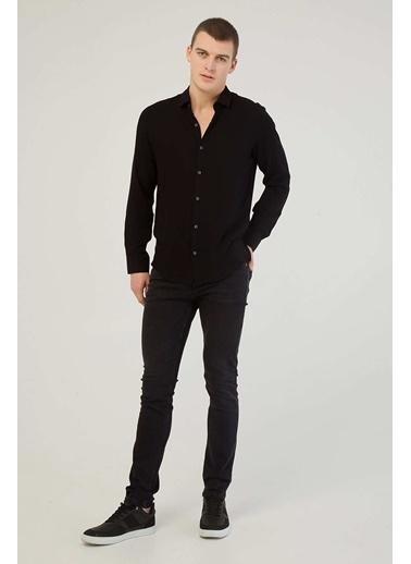 Modaset Normal Bel Slim Fit Jean Pantolon Gri Gri